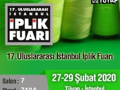 17. ULUSLARARASI İPLİK FUARINA KATILIYORUZ ...